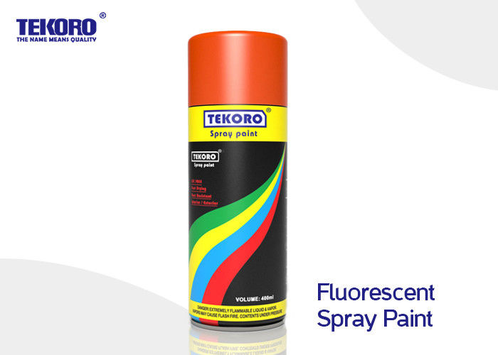 Fluorescent Spray Paint High Performance For Interior & Exterior Applications